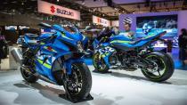 Suzuki 5 yeni motosikletini görücüye çıkardı