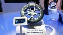 Michelin, Paris'te 2 yeni lastiğini tanıttı