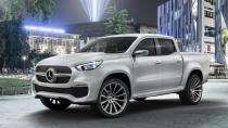 Mercedes premium pick-up modeli X-CLASS'ı tanıttı