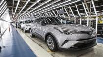 """""""Toyota C-HR"""" seri üretimine başlıyor"""