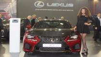 Lexus'tan Bursa Otoshow'da lüks gösterisi