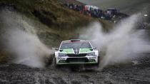 Skoda WRC2'de dünya şampiyonluğunu garantiledi