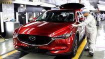 Yeni Mazda CX-5'in üretimine başlandı