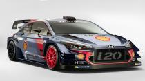 Hyundai i20 Coupe WRC yarışa hazır