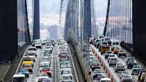 Türkiye, yılda 34 saatini trafikte geçiriyor.
