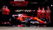 Ferrari'nin yeni F1 otomobili görücüye çıktı