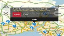 Avis ve Yandex Navigasyon işbirliği