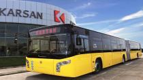 Karsan otobüsleri yeniden Şanlıurfa'da