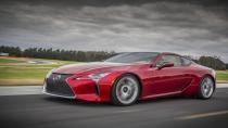 Lexus LC Coupe'ye tasarım ödülü