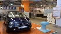 Yat konforu Fiat 500 Riva'da