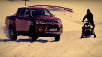 Toyota Hillux'tan kar macerası