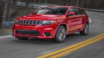 Dünya'nın en güçlü SUV'una merhaba diyin: Jeep Grand Cherokee Trackhawk!
