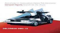 Geleceğin otomobili DeLorean BMC-12 Autoshow'da