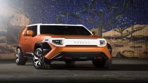 Toyota'nın yeni SUV konsepti geliyor