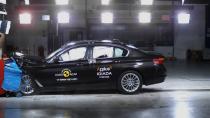 Yeni BMW 5 Serisi'ne güvenlikte tam not
