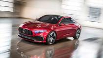 Mercedes, A Serisi Sedan konseptini resmen duyurdu