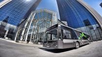 Yüzde yüz yerli akıllı otobüs IBUS Kocaeli'ye ulaştı