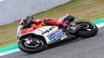 Lorenzo, Ducati ile ilk podyumunu aldı