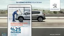Peugeot'dan 'Fiks Menü' avantajı