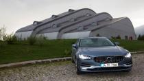 """Volvo S90 lansmanına """"Altın Pusula"""" ödülü"""