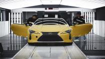 Lexus LC Coupe'nin üretimi başladı