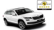 Skoda Kodiaq'a Euro NCAP'tan 5 Yıldız