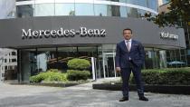 Mercedes-Benz'in en lüks showroom'umu Levent'te