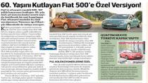 Pul koleksiyonerlerine özel Fiat 500