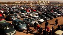 İkinci el araç pazarında bayram hareketliliği