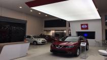 Nissan Showroom'larına Boytorun tasarımı