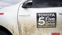 Toyota 5 kıtada sürüşe başlıyor