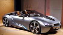 BMW i8 Roadster'ın görüntüleri yayınlandı