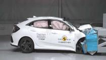 Honda Civic HB güvenlik testinden geçti