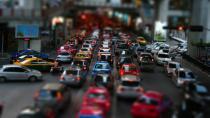 Trafik yoğunluğu rekoru İstanbul'da