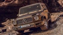 Yeni Mercedes G serisinin ilk görüntüleri