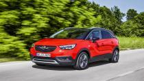 X sınıfının en güvenli otomobili ''Opel Crossland''