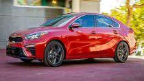 Kia, yeni 2019 Forte Sedan'ı Detroit Otomobil Fuarı'nda tanıttı.