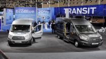Yeni EcoBlue motor, lider Ford ticari ailesine güç veriyor