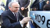 Bilim, Sanayi ve Teknoloji Bakanı Faruk Özlü, MD9 ElectriCITY'i Adana'da test etti
