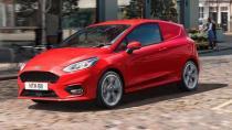 Ford'dan sportif ticari model: Fiesta VAN