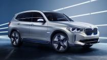 BMW iX3 konseptini Pekin'de tanıttı
