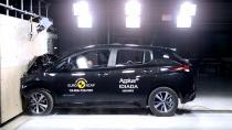 Nissan Leaf, Euro NCAP'ten 5 yıldız aldı