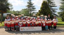 Toyota Türkiye, sosyal sorumluluk projelerini tamamladı