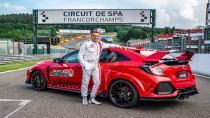 Honda Civic Type R, Belçika'da pist rekoru kırdı