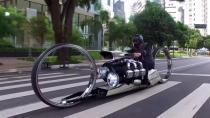 Rolls-Royce'dan uçak motorlu motosiklet üretimi