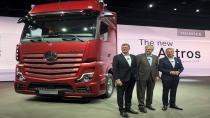 Mercedes iki yeni ticari modelini Hannover'da tanıttı