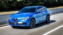 Yılın en güçlü SUV'u Stelvio Quadrifoglio!