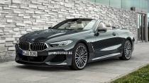 BMW 8 Serisi Cabrio'nun görüntüleri sızdırıldı