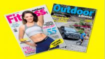 Outdoor&Fitness dergisi yenilendi ve 2 kapaklı oldu!