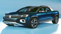 Volkswagen'in yeni pick-up modeli Tarok Concept tanıtıldı